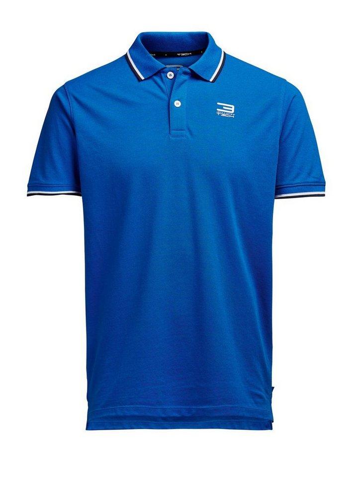 Jack & Jones Klassisches Poloshirt in Victoria Blue