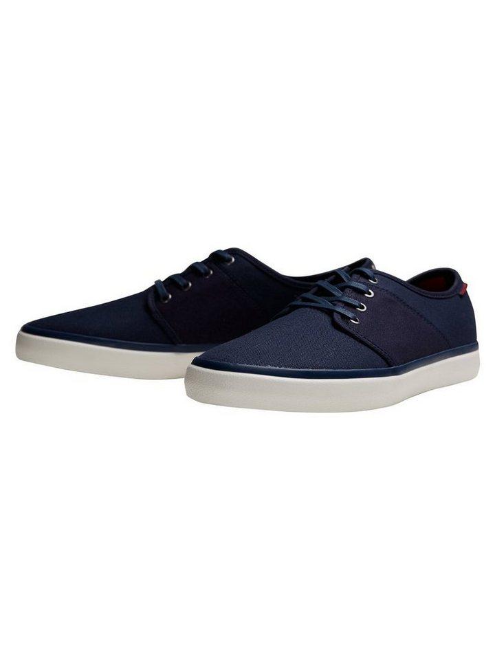 Jack & Jones Leinen- Sneaker in Navy Blazer