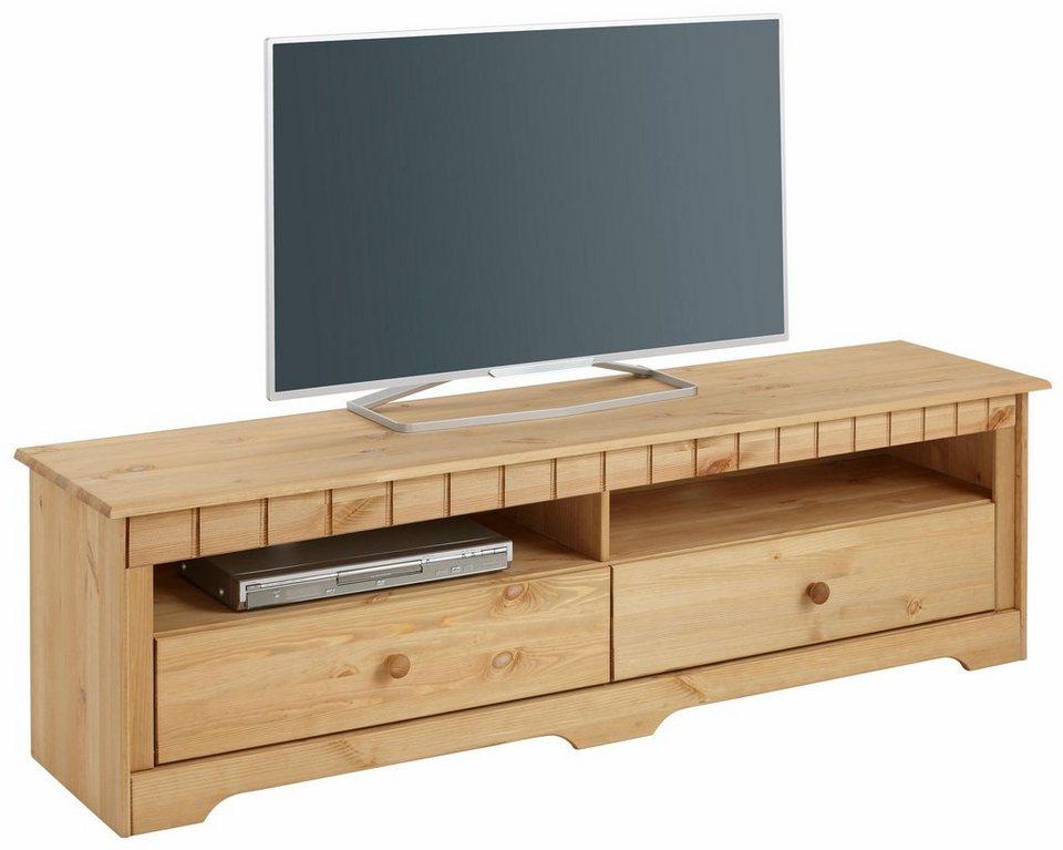 Home affaire Lowboard »Poehl«, Breite 160 cm in gelaugt/geölt