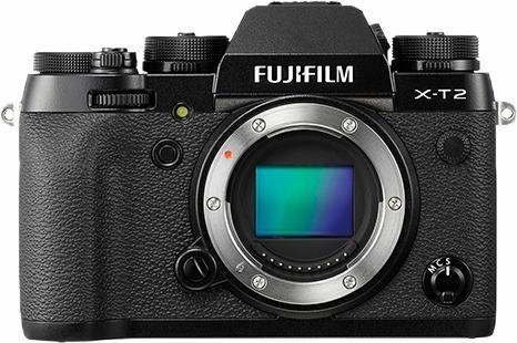 FUJIFILM X-T2 Body System Kamera, 24,3 Megapixel, 7,6 cm (3 Zoll) Display