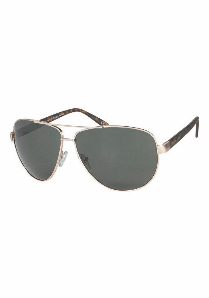 ROUTE 66 Feel the Freedom Eyewear Sonnenbrille für den sportlichen Look in goldfarben-grün