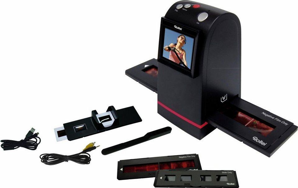 Rollei DF-S100 SE Dia-Film-Scanner, 6,1 cm (2,4 Zoll) Display in schwarz