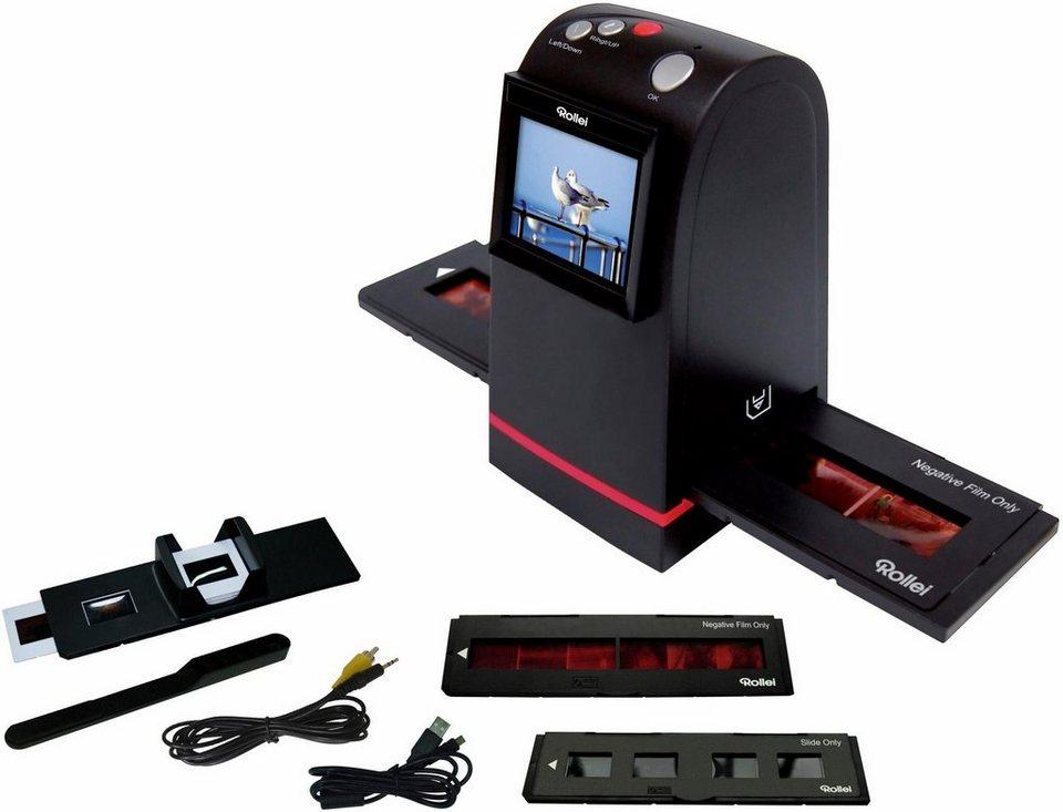 Rollei DF-S190 SE Dia-Film-Scanner, 6,1 cm (2,4 Zoll) Display in schwarz