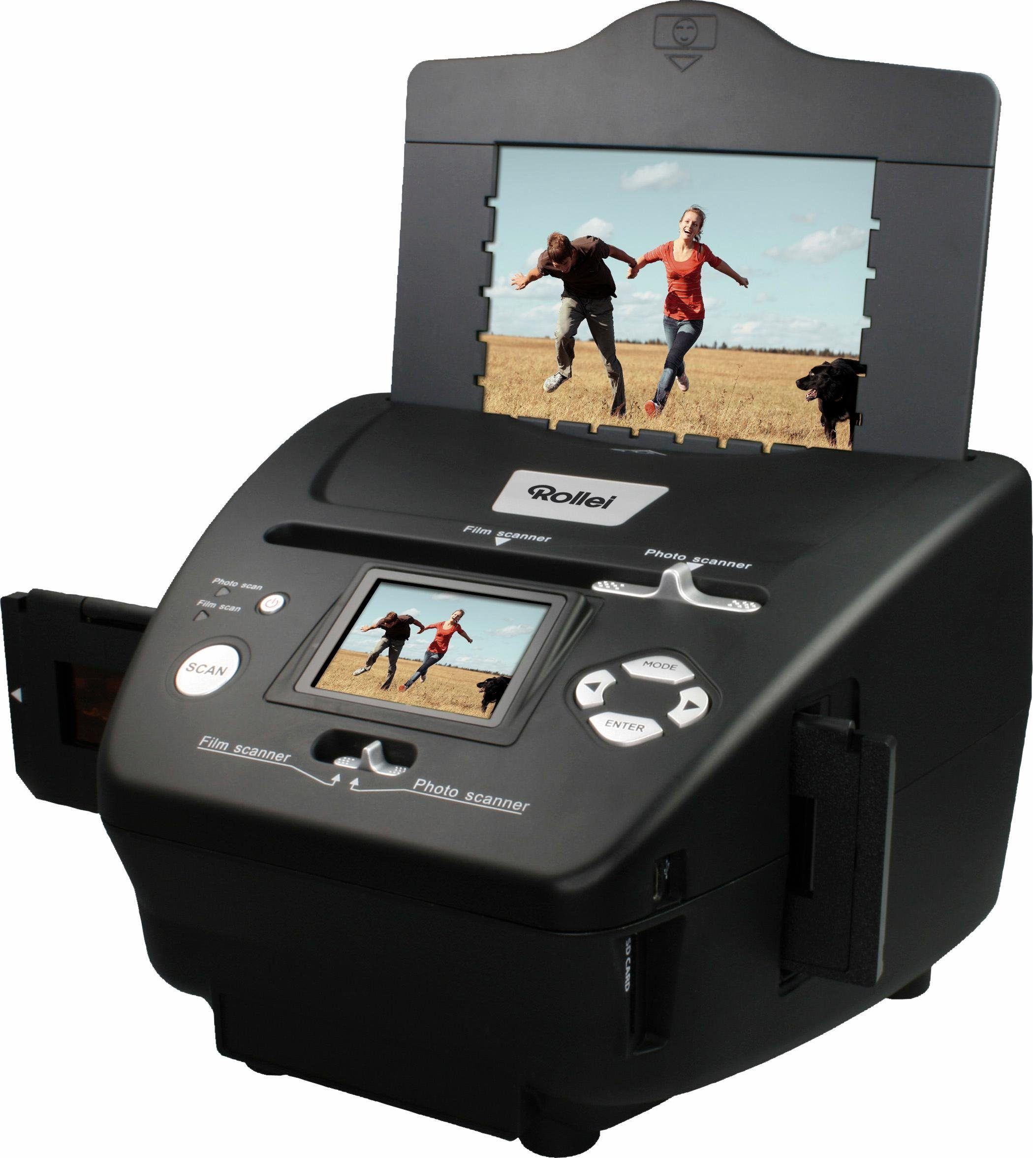 Rollei PDF-S240 Photo-Dia-Film-Scanner, 6,1 cm (2,4 Zoll) Display
