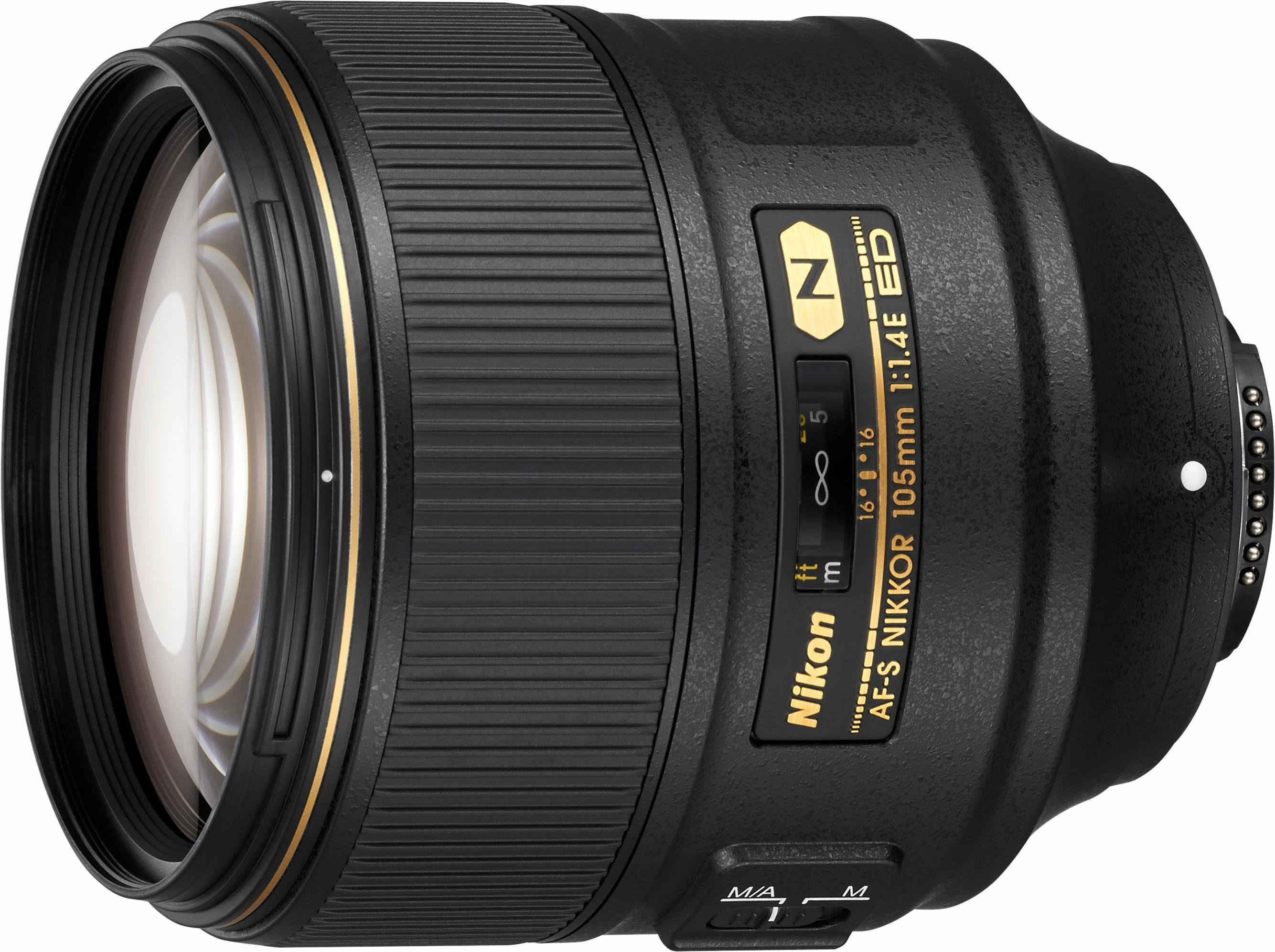 Nikon AF-S Nikkor 105mm 1:1.4E ED Tele Objektiv