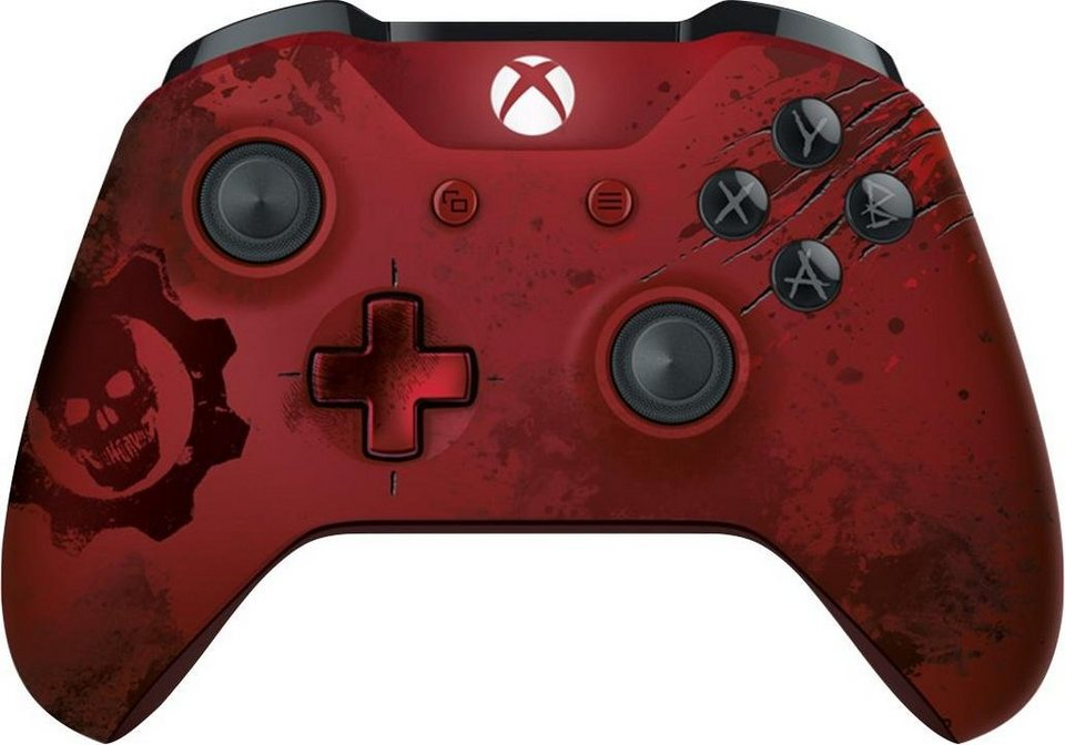 Xbox Controller: Gears of War 4 Crimson Omen LE in Rot