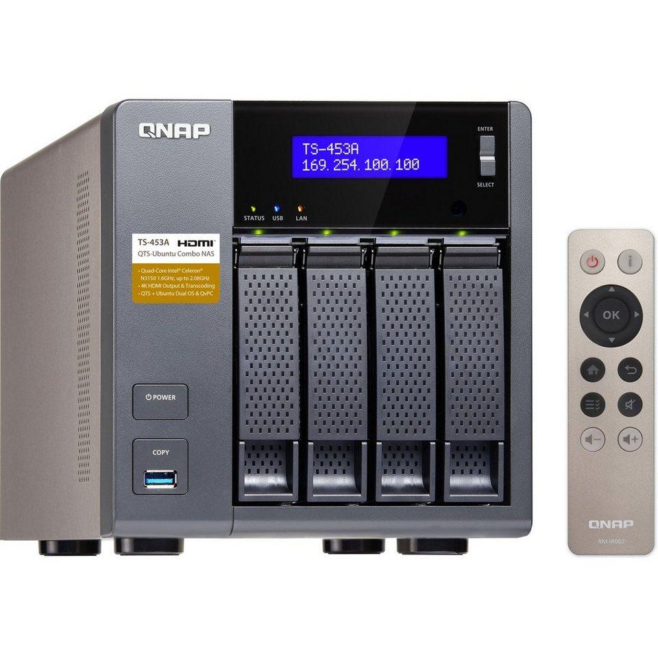 """QNAP NAS »TS-453A-4G 4x1,6Ghz/4GB/4x3,5""""«"""