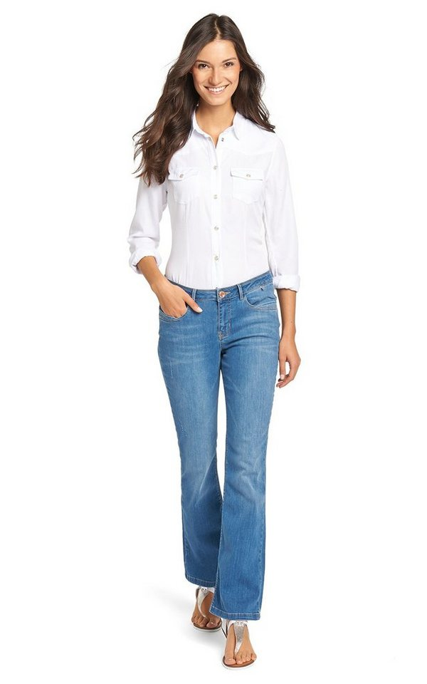 H.I.S Jeans »Sunny« in Paradise Blue