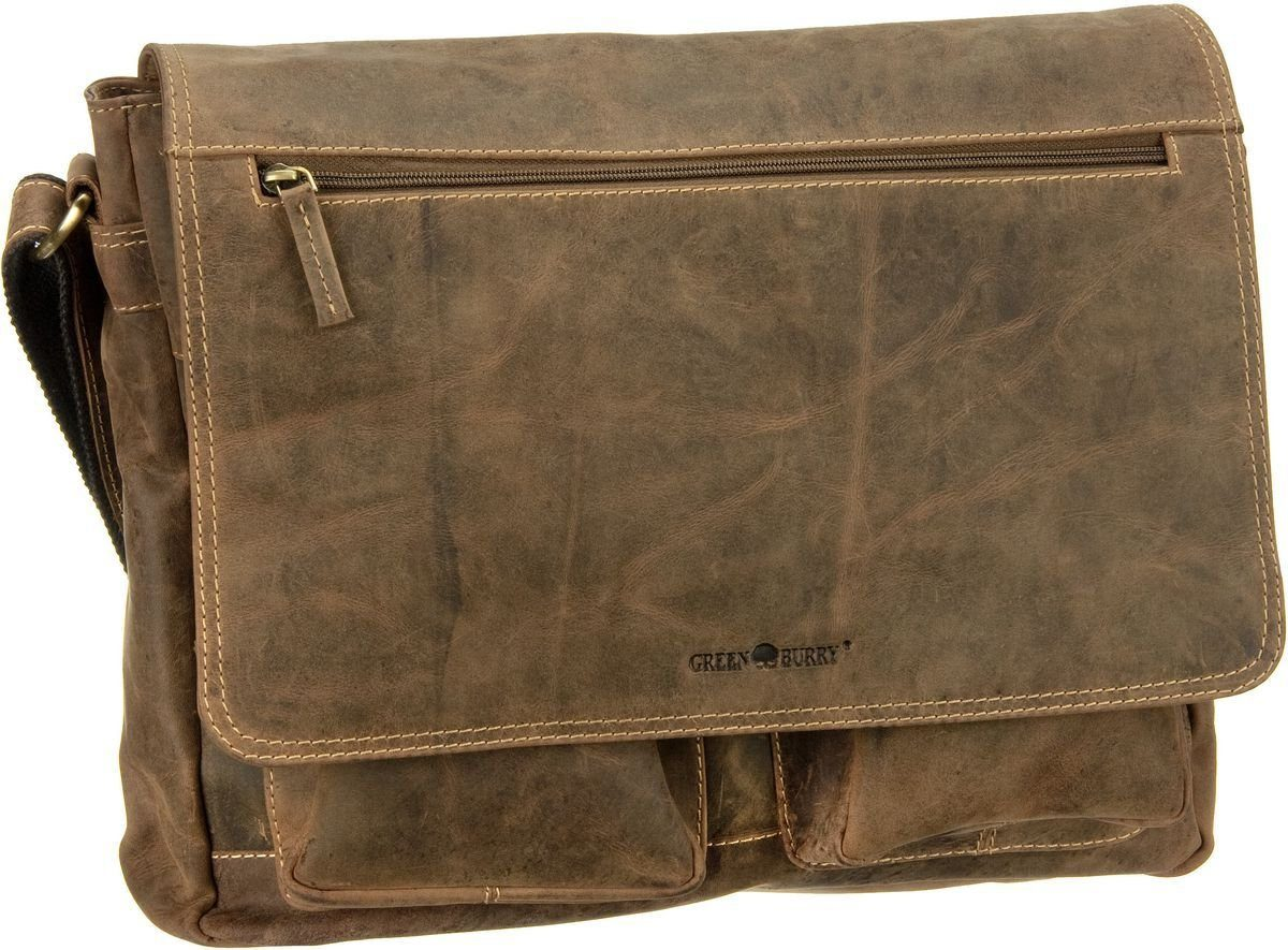 Greenburry Notebooktasche / Tablet »Vintage Business Umhängetasche«