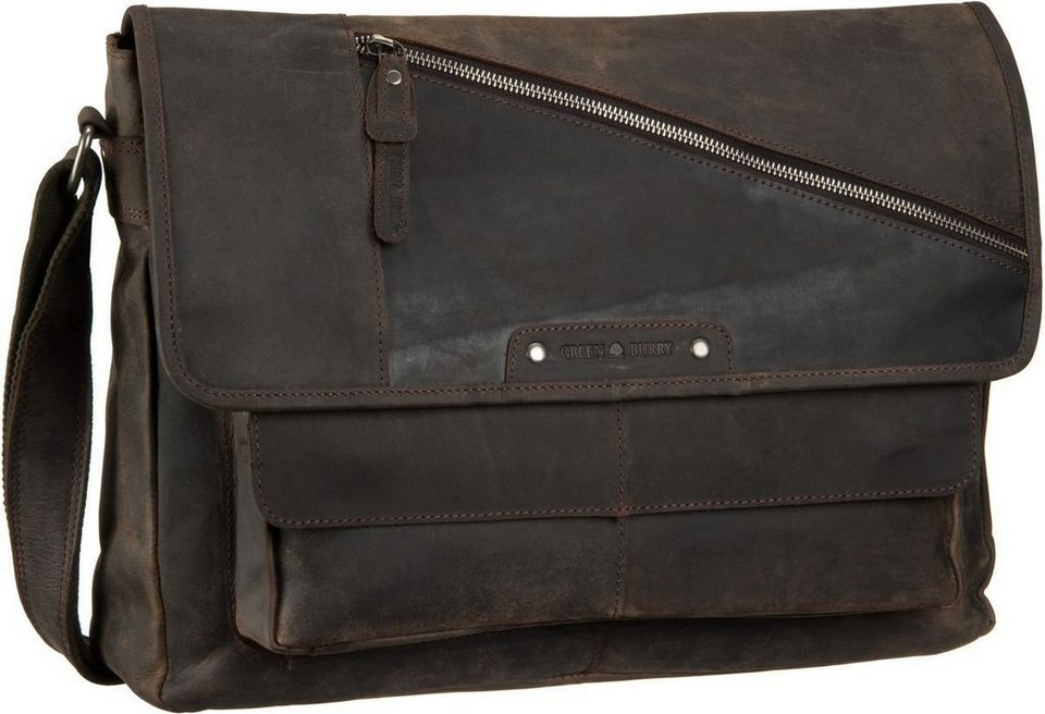 Greenburry Vintage Revival Vol. 2 Messenger in Charcoal