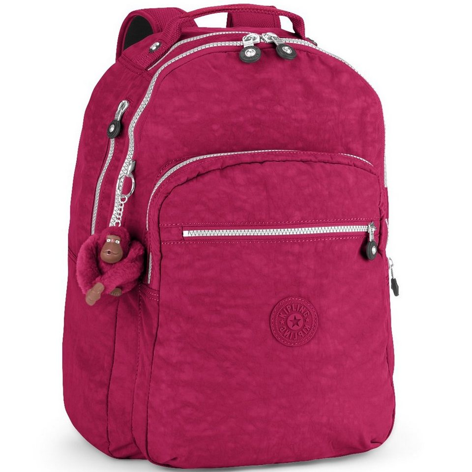 Kipling Back to School Class Seoul B Schulrucksack 45 cm in berry