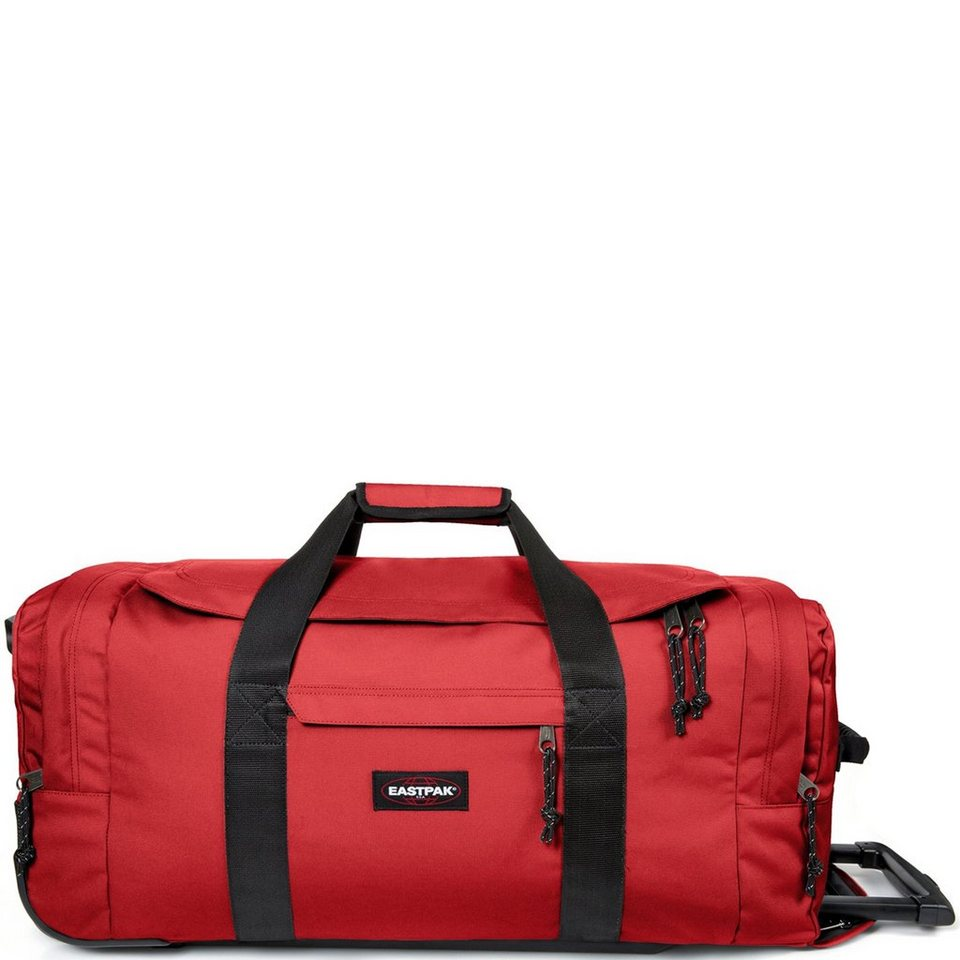 Eastpak Authentic Collection Leatherface M 2-Rollen Reisetasche 68,5 cm in apple pick red