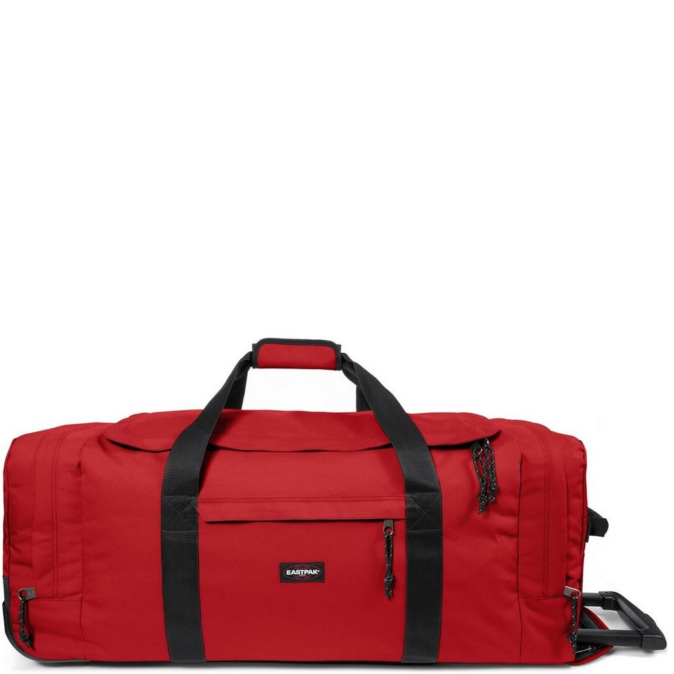 Eastpak Authentic Collection Leatherface L 2-Rollen Reisetasche 86,5 cm in apple pick red