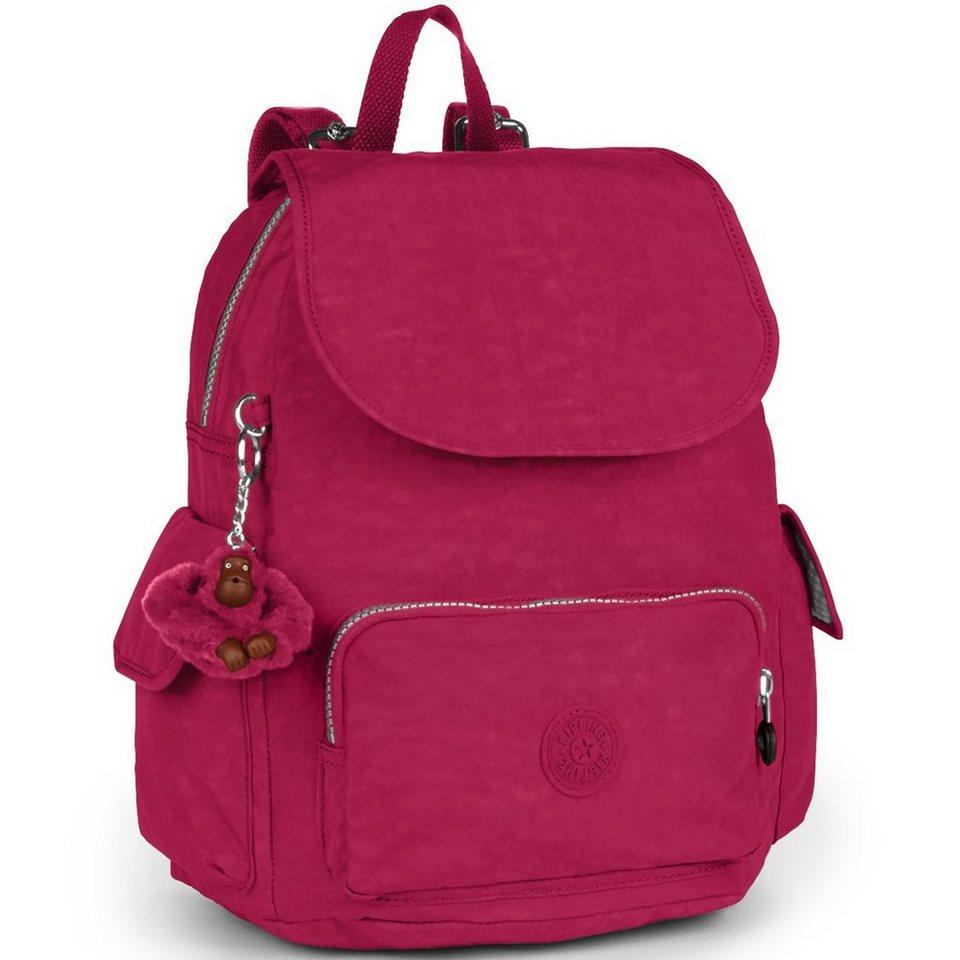 Kipling Basic City Pack S Rucksack 33,5 cm in berry