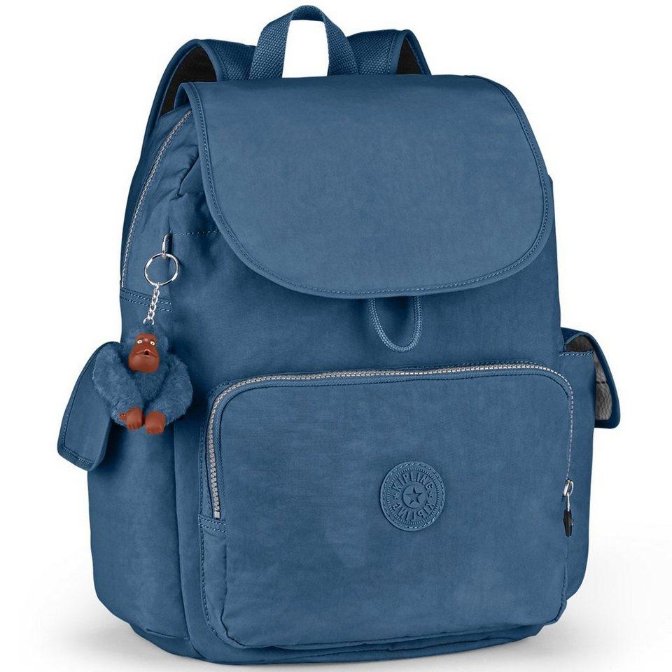 Kipling Basic City Pack L B Rucksack 35 cm in jazzy blue