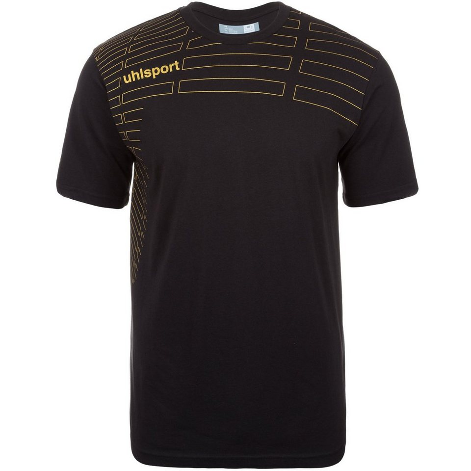 UHLSPORT Match Training T-Shirt Kinder in schwarz/gold
