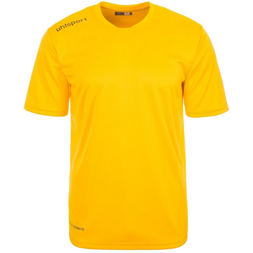UHLSPORT Essential Polyester Training T-Shirt Herren in maisgelb
