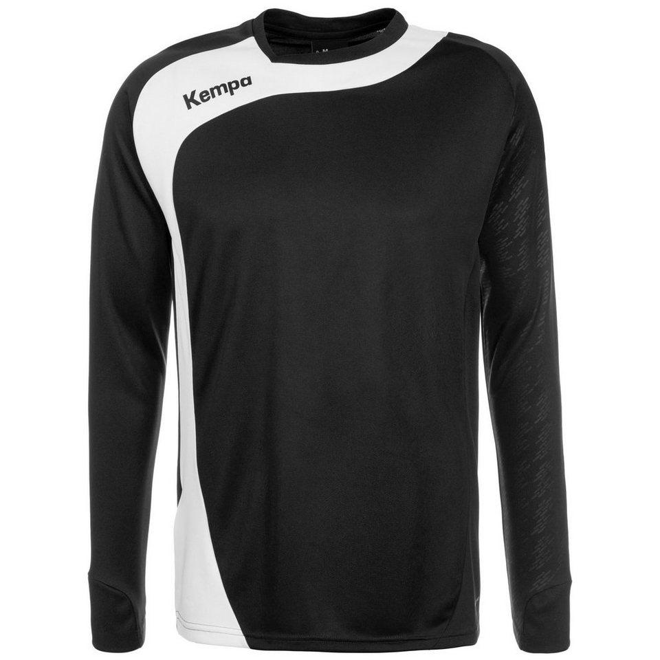 KEMPA Peak Trainingsshirt Herren in schwarz / weiß
