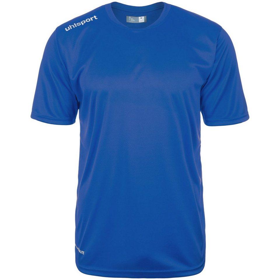 UHLSPORT Essential Polyester Training T-Shirt Herren in azurblau