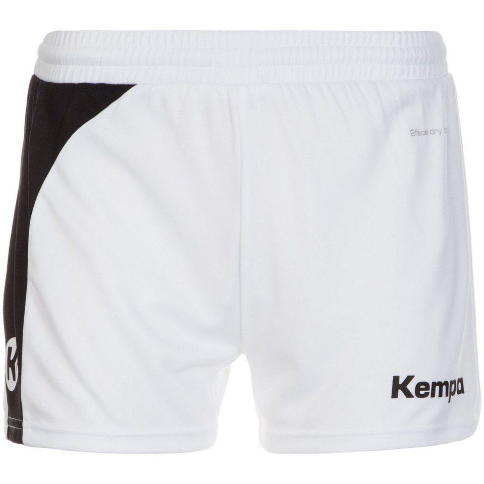 KEMPA Peak Short Damen in weiß / schwarz