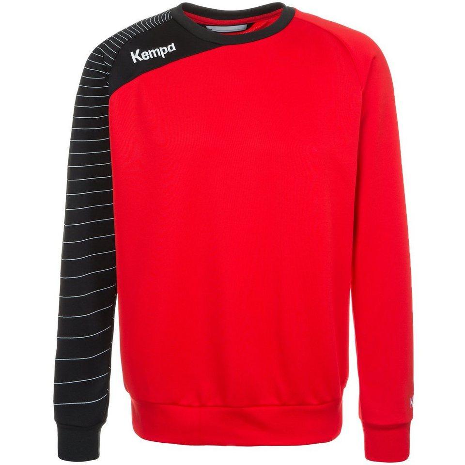 KEMPA Circle Trainingsshirt Herren in rot/schwarz