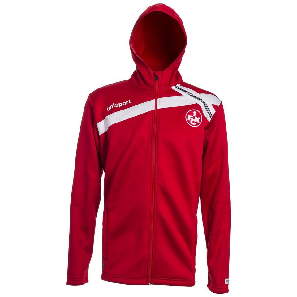 UHLSPORT FCK Hoody Jacke 15/16 Kinder in chilirot / weiß