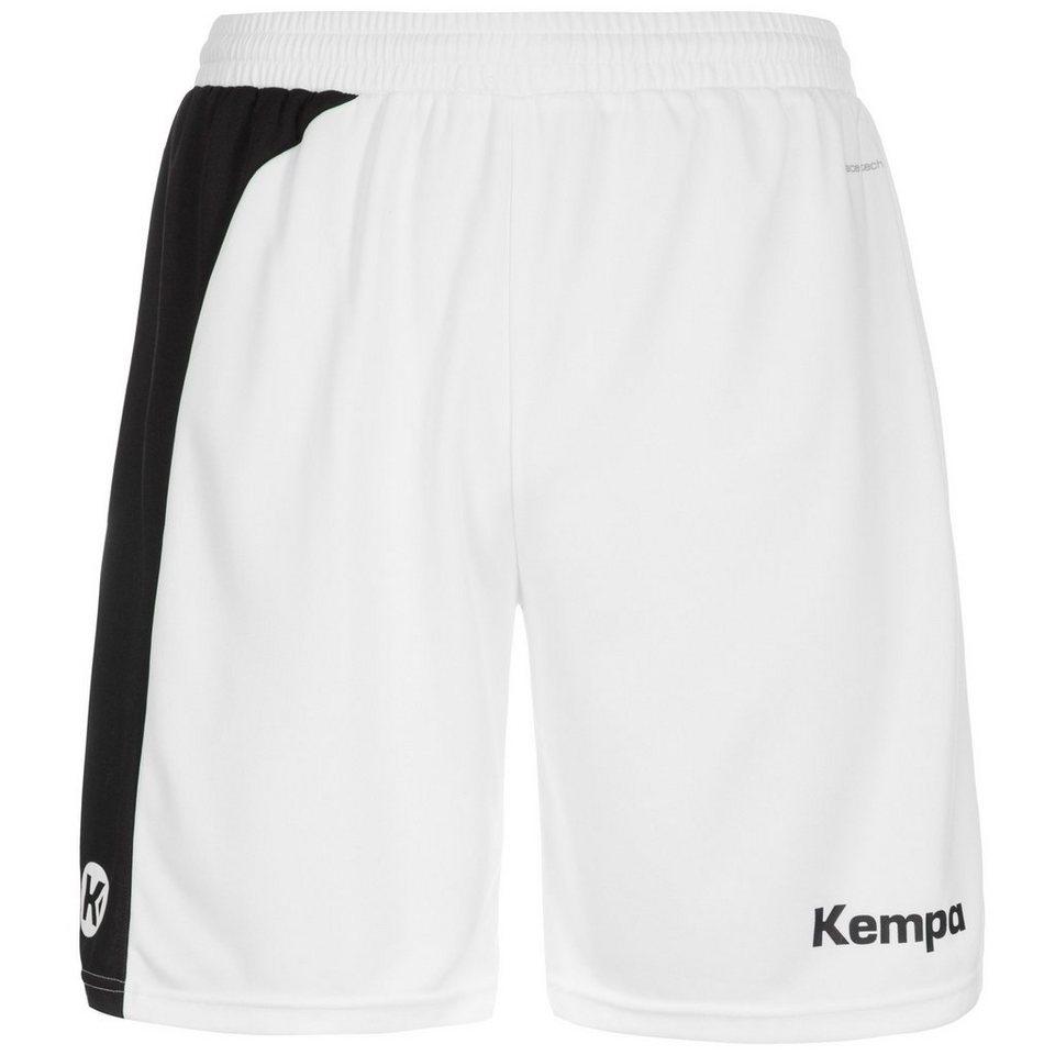 KEMPA Peak Short Herren in weiß / schwarz