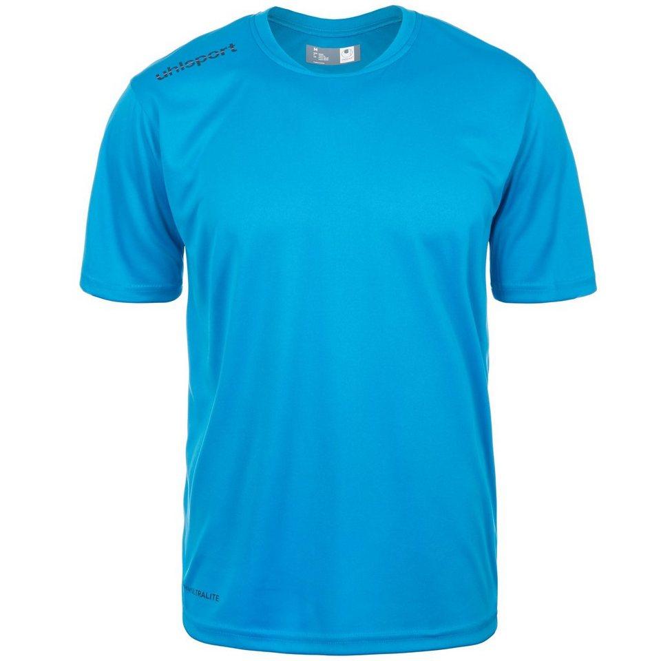 UHLSPORT Essential Polyester Training T-Shirt Herren in cyan