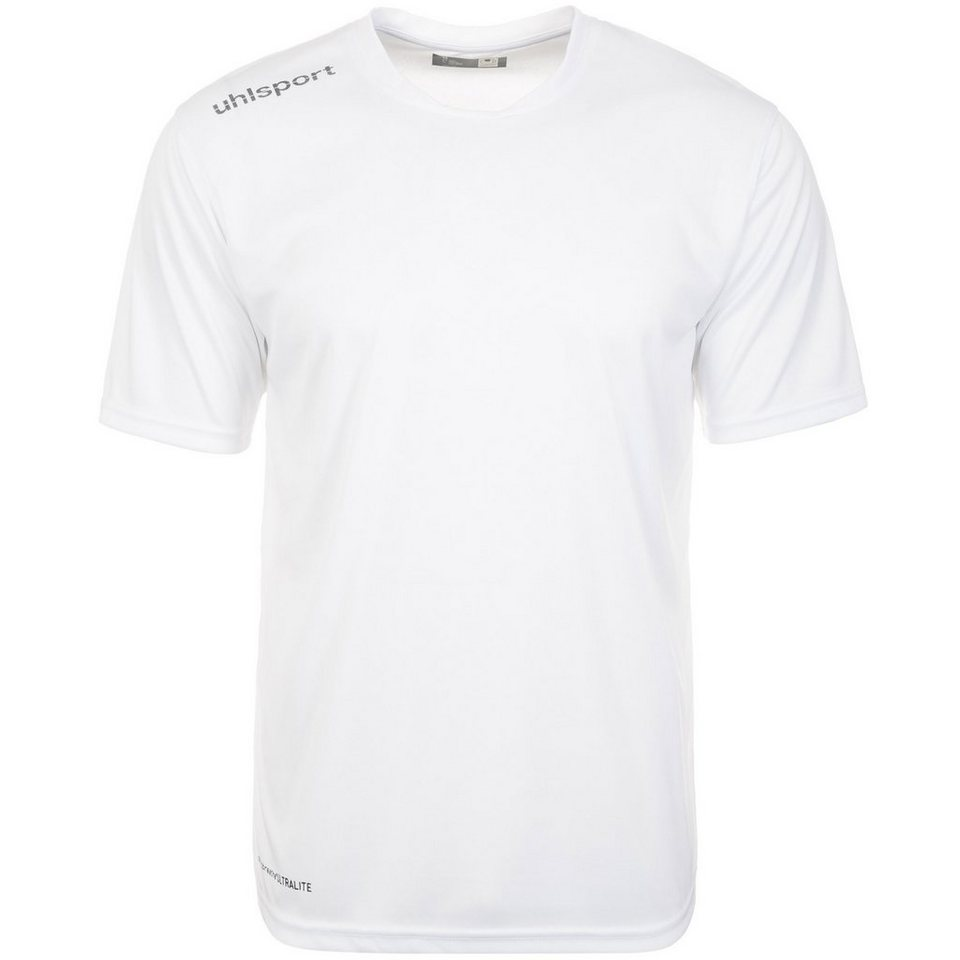 UHLSPORT Essential Polyester Training T-Shirt Herren in weiß