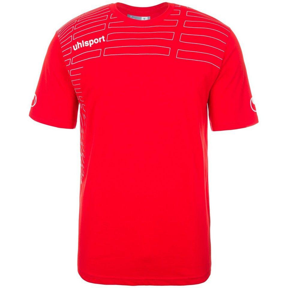 UHLSPORT Match Training T-Shirt Kinder in rot/weiß