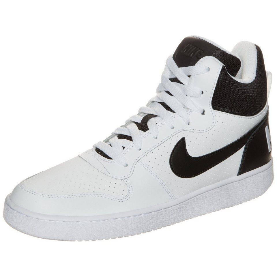 Nike Sportswear Court Borough Mid Sneaker Herren in weiß / schwarz