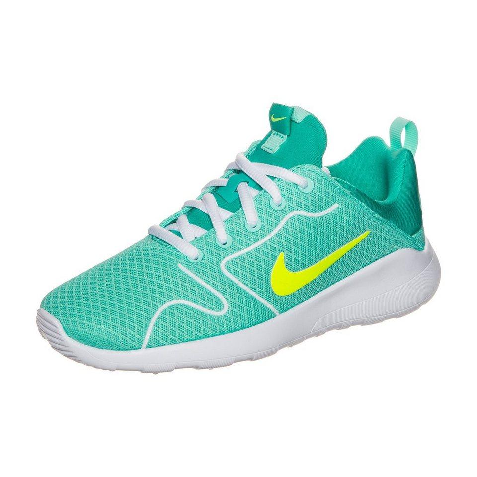Nike Sportswear Kaishi 2.0 Sneaker Kinder in türkis / neongelb
