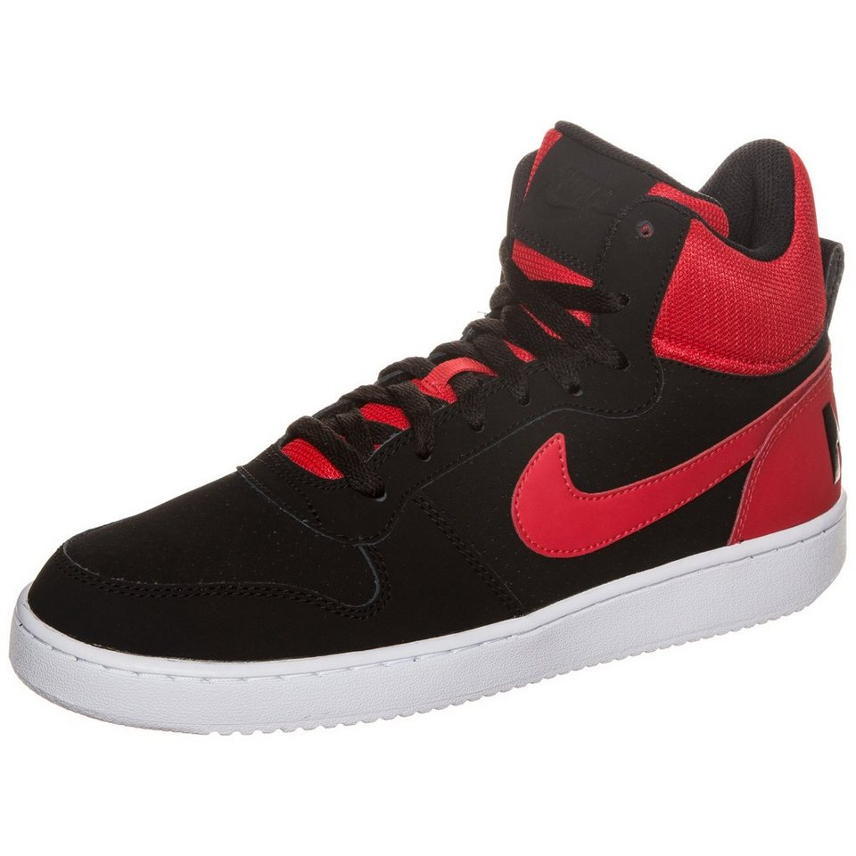 Nike Sportswear Court Borough Mid Sneaker Herren in rot / schwarz