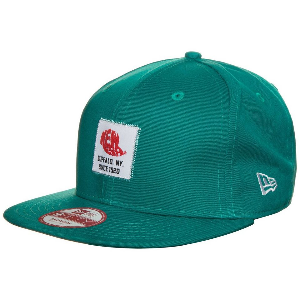 New Era 9FIFTY Patch Snapback Cap in türkis