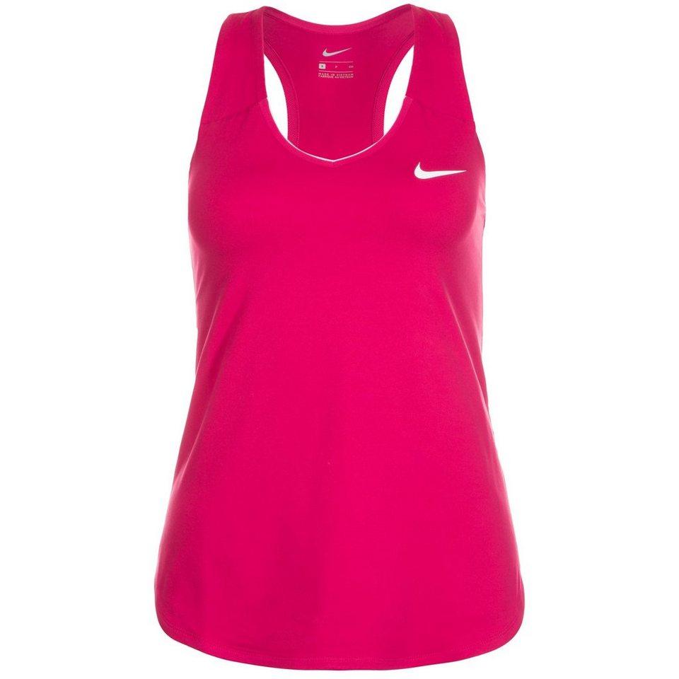 NIKE Pure Tennistank Damen in pink