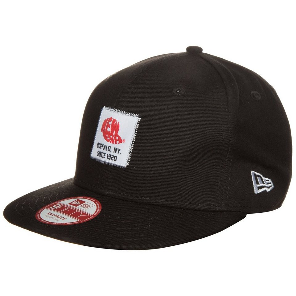 New Era 9FIFTY Patch Snapback Cap in schwarz