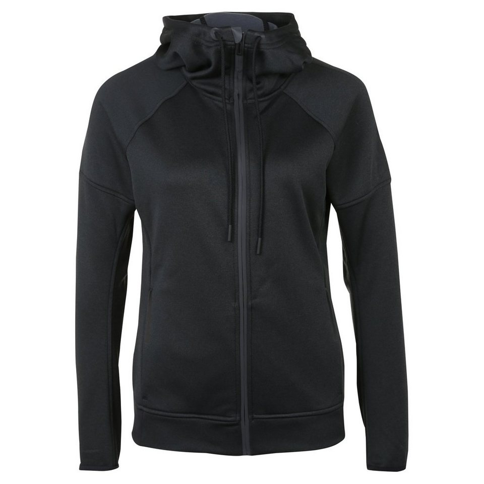 adidas Performance Daybreaker Reflective Trainingskapuzenjacke Damen in schwarz / grau