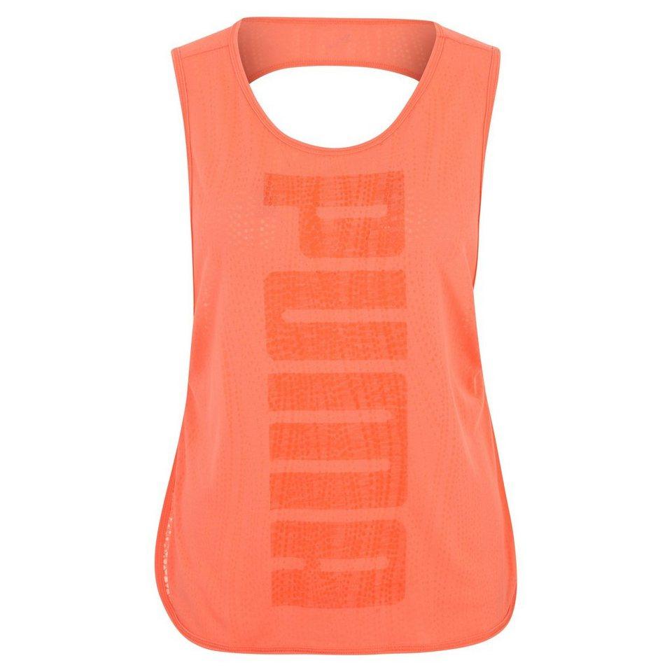 PUMA Layer Trainingstank Damen in orange