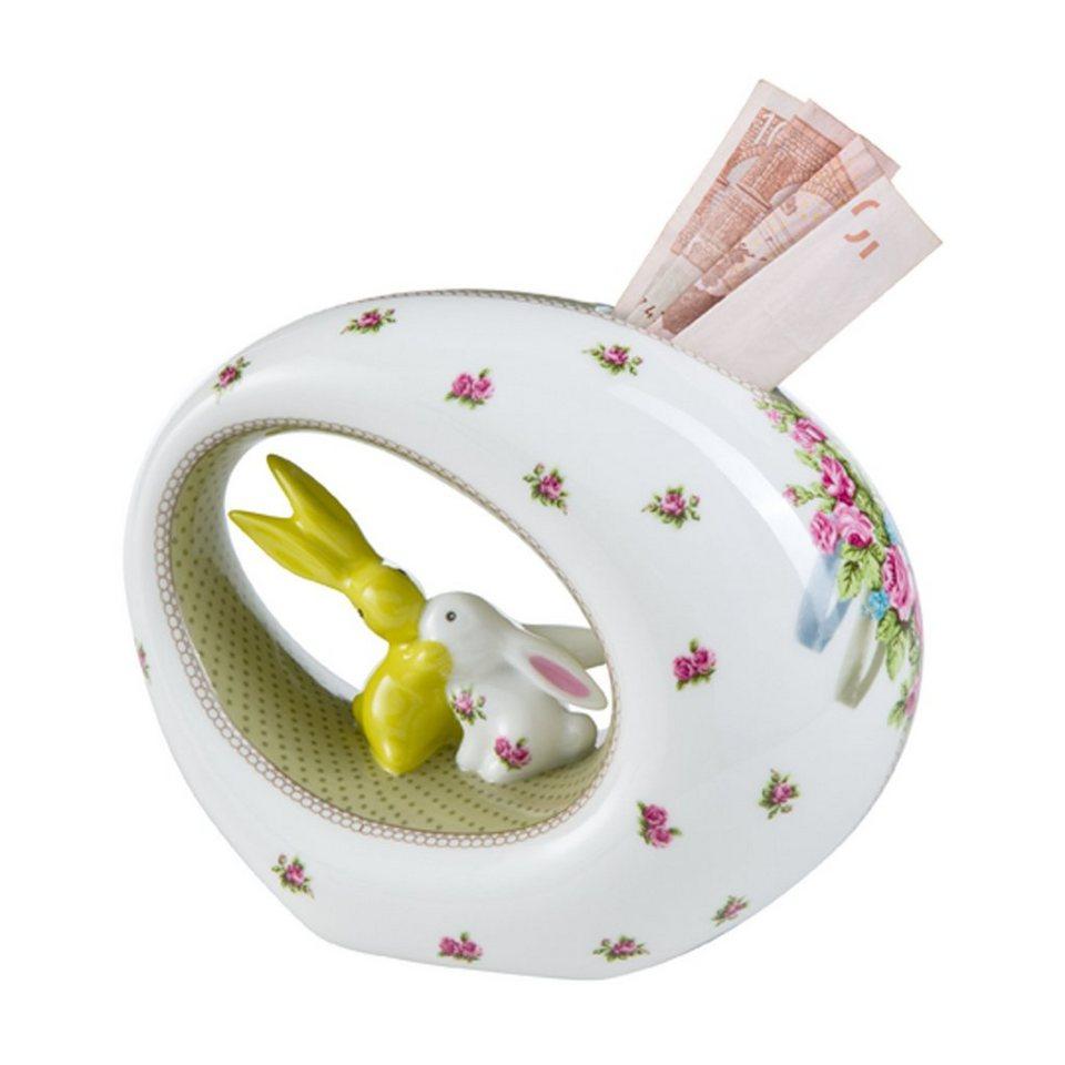 Goebel Bloom Bunny Spardose »Bunny de luxe« in Bunt