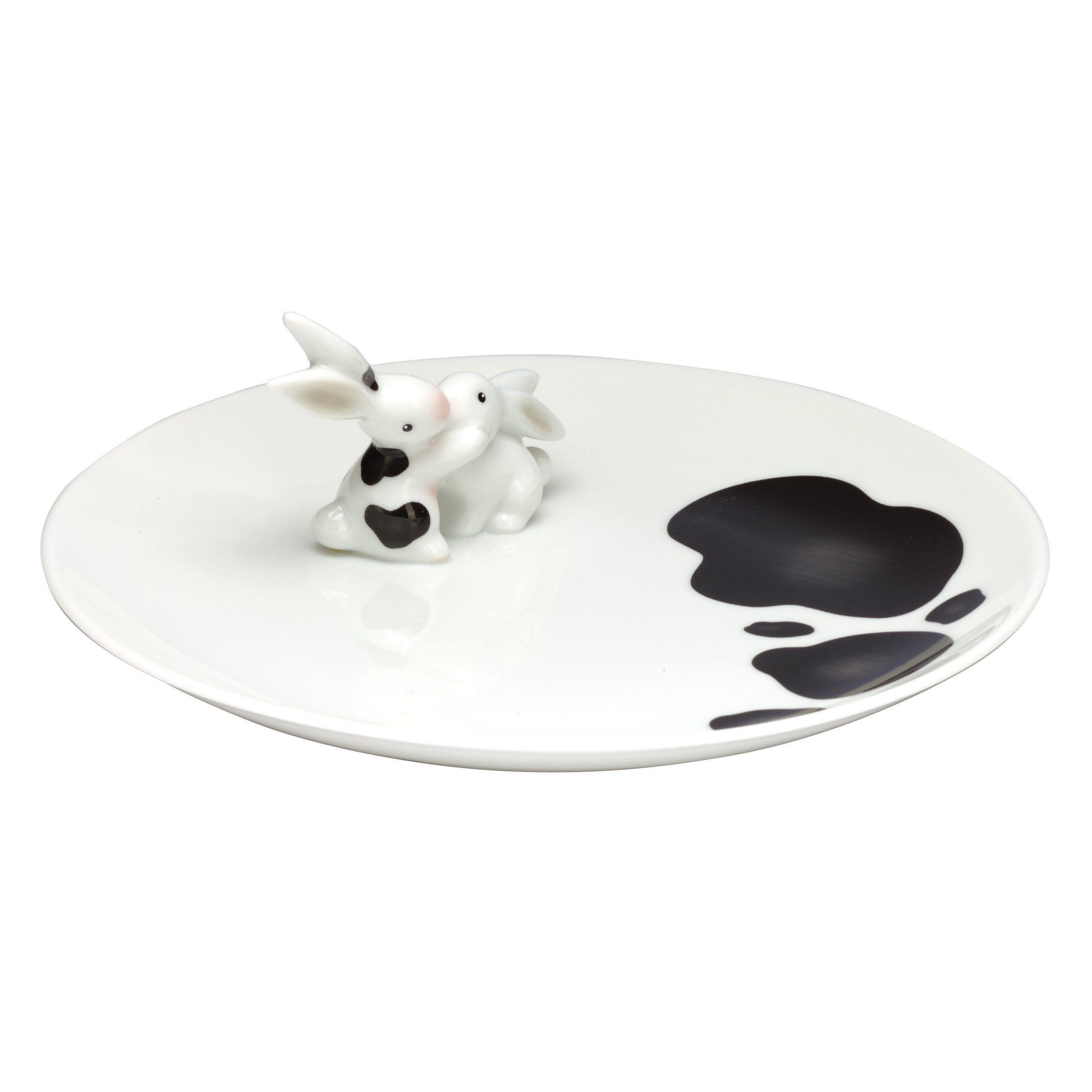 Goebel Cow Bunny - Porzellanteller »Bunny de luxe«