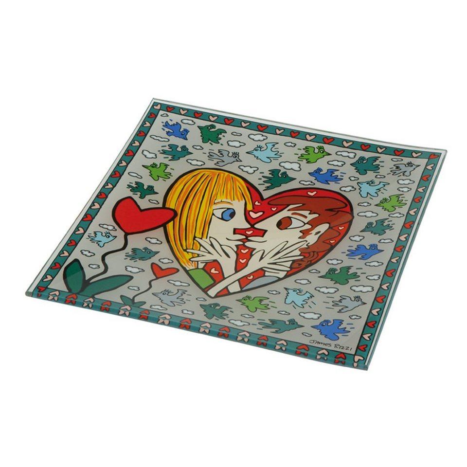 Goebel I Square I Love You - Schale »Artis Orbis« in Bunt