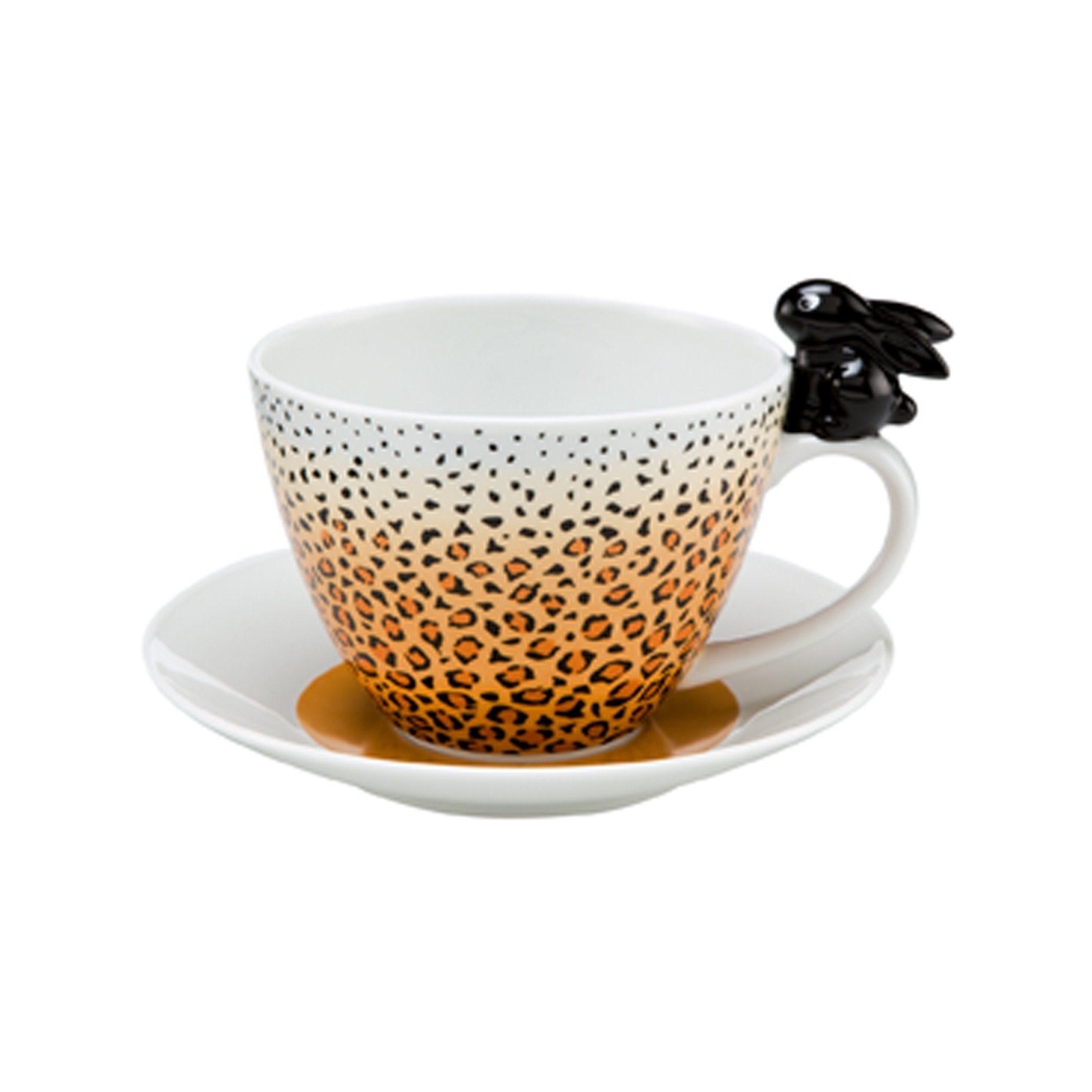 Goebel Leopard Bunny - Tasse »Bunny de luxe«