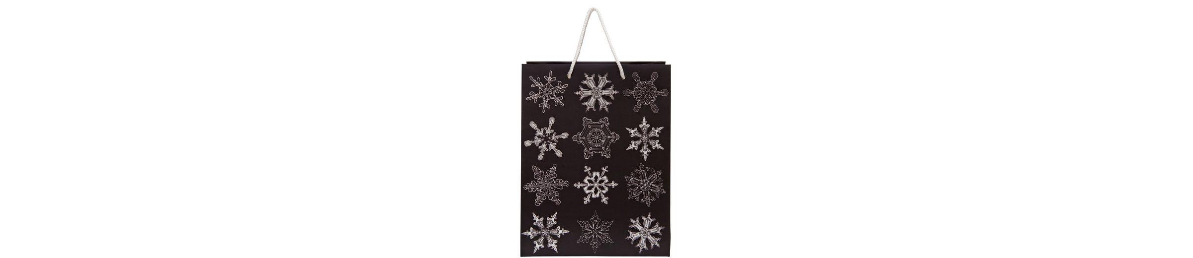 BUTLERS X-MAS »Geschenktasche Snowflake groß«
