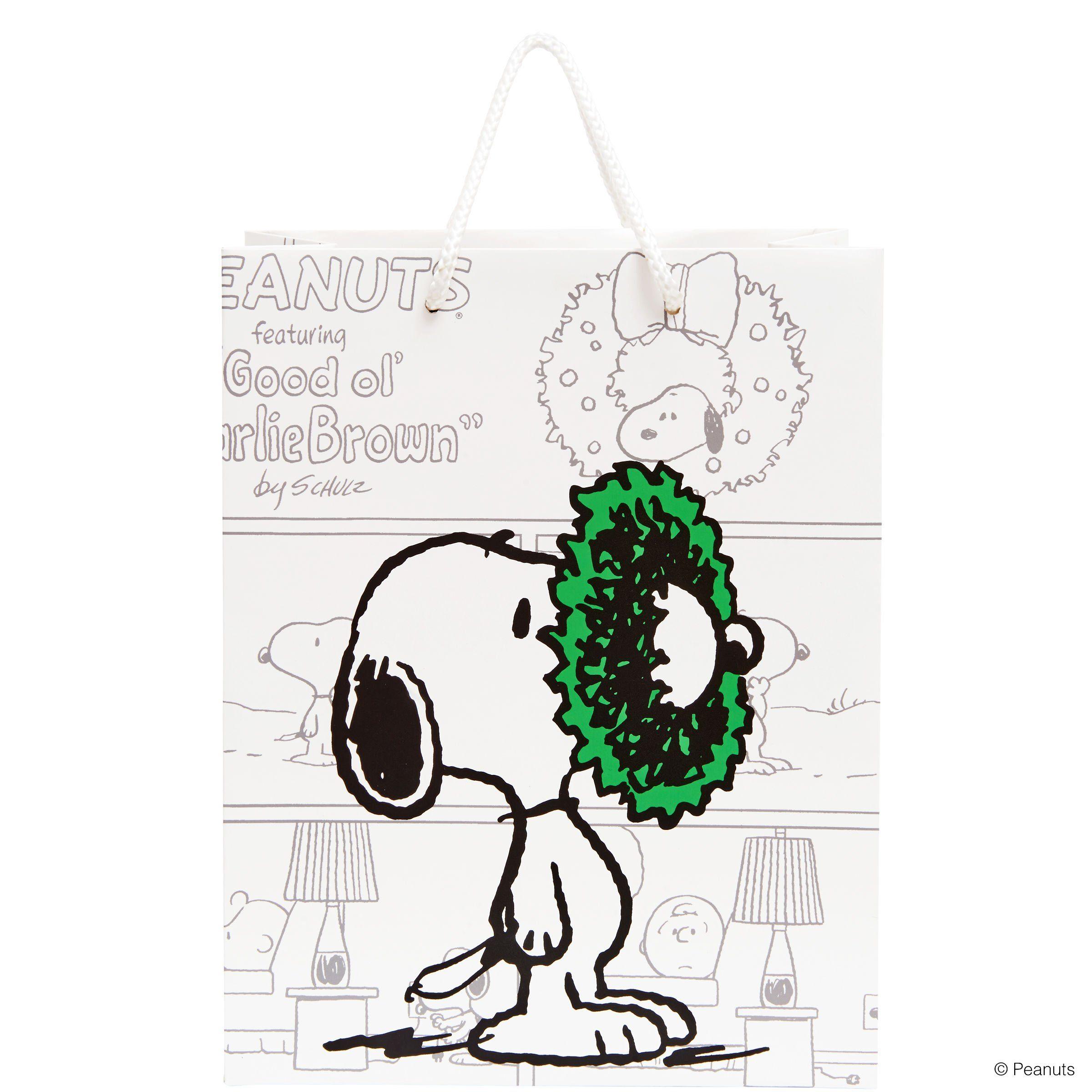 BUTLERS PEANUTS »Geschenktasche Snoopy groß«