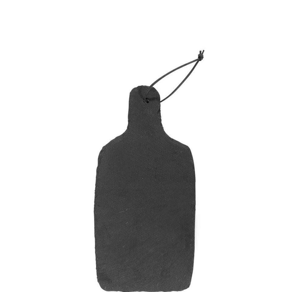 BUTLERS PLATEAU »Schieferbrett« in schwarz