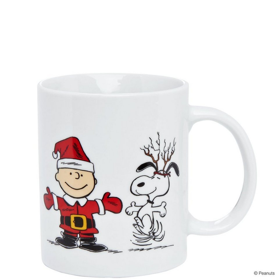 BUTLERS PEANUTS »Snoopy & Charlie Brown Tasse« in weiss