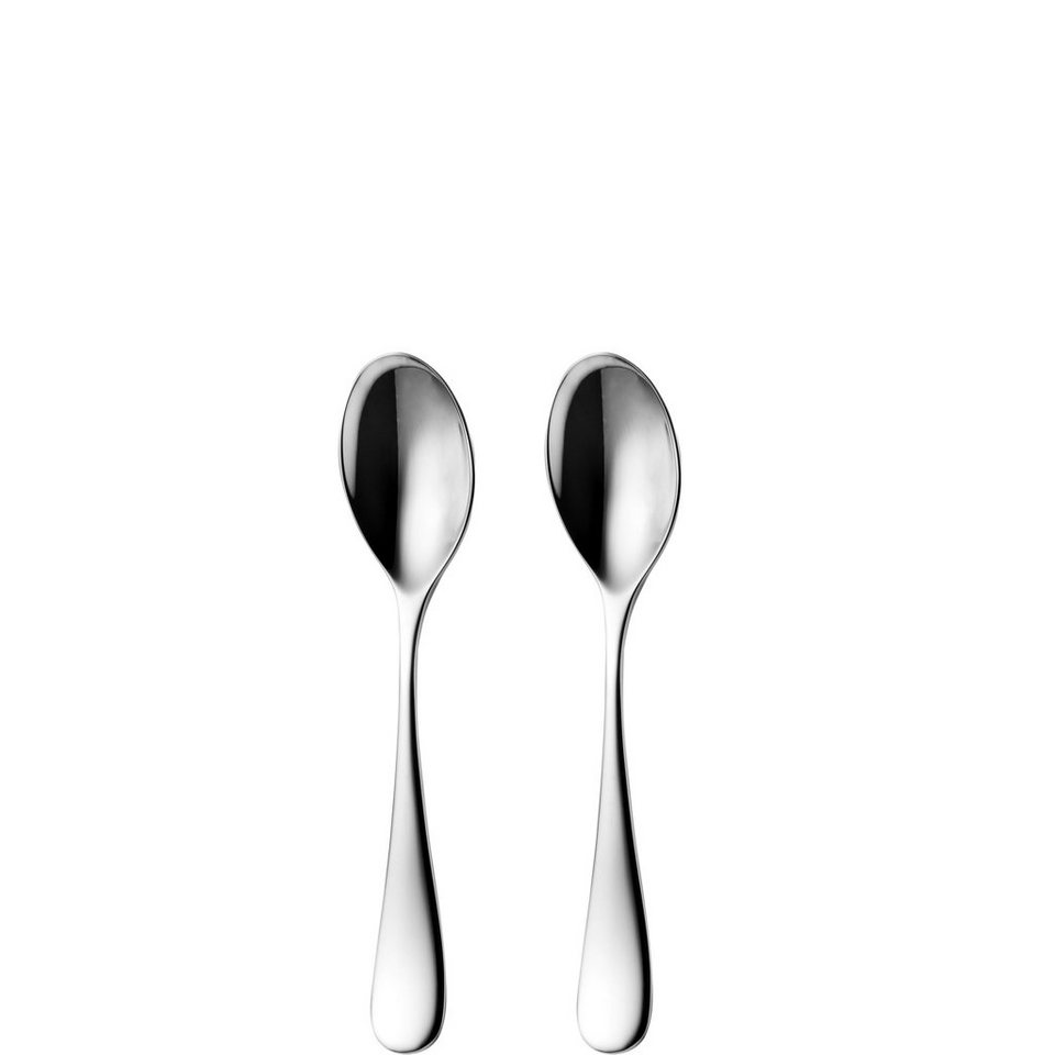 BUTLERS MILONGA »Kaffeelöffel 2er Set« in Silber
