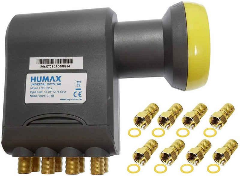 Humax »Humax Gold Octo LNB, digitales Satelliten universa« Universal-Octo-LNB