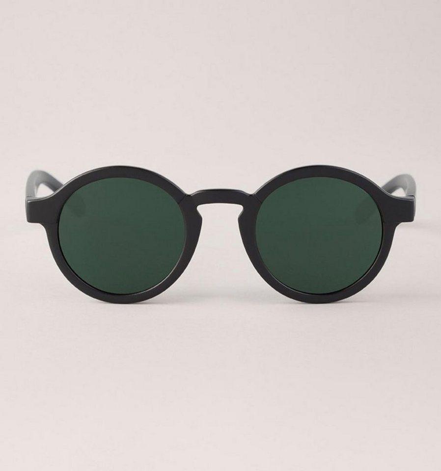 Mr. Boho Sonnenbrille »Matt schwarze Dalston mit klassischen Linsen« in MATTE BLACK