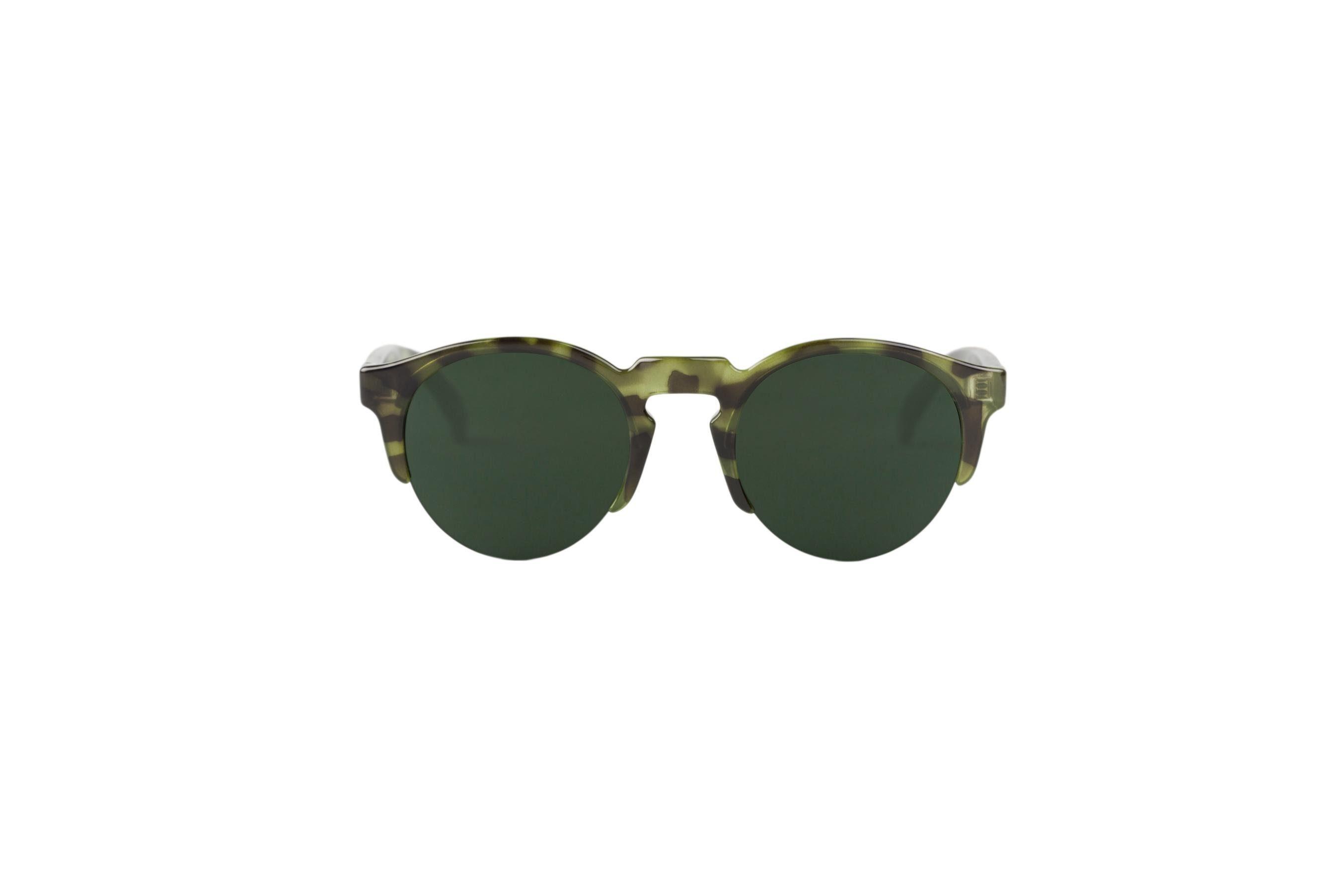 Mr. Boho Sonnenbrille »Monochrome grüne Born«